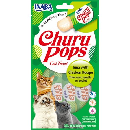 Churu Pops Tuna & Chicken Recipe 2.16oz