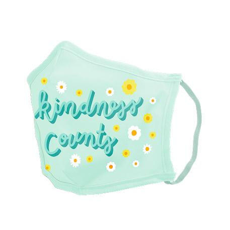 Kindness Counts Adult Large Reusable Cloth Face Mask