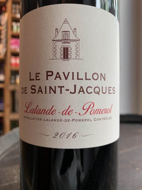 Pavillon De Saint-jacques - Grand Vin De Bordeaux 2016
