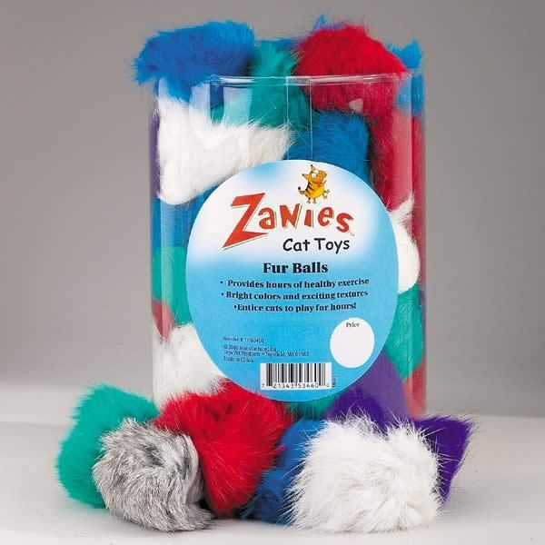 Zanies Fur Balls Cat Toy