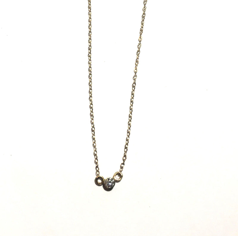 3.2mm Diamond Necklace