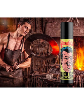 Dick Johnson - Uncle's Slick Gel 100ml (Hår Gelé Til Slik-hår) - klunkevoks.dk