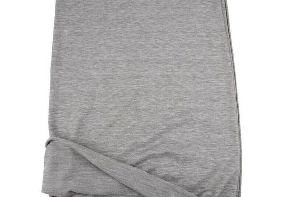 Heather Gray Baby French Terry Knit Fabric by the yard FTK00798R