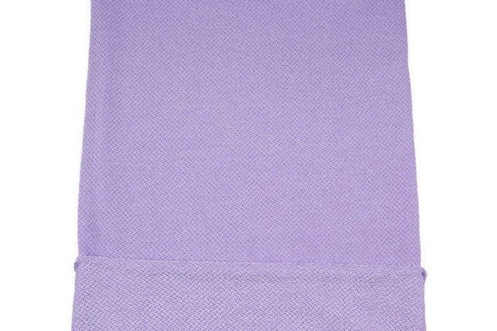 Lavender Terry Loop Like Sweater Knit Fabric by the yard OSK00881R