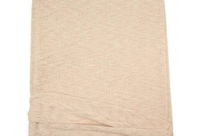 Heather Peach Nude Open Weave Sweater Knit Fabric by the yard OSK00675R