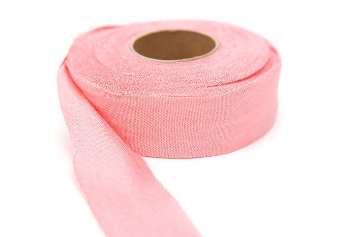 Pink Knit Jersey Bias Tape 19 yards by 1.25 inches wide  BST00115