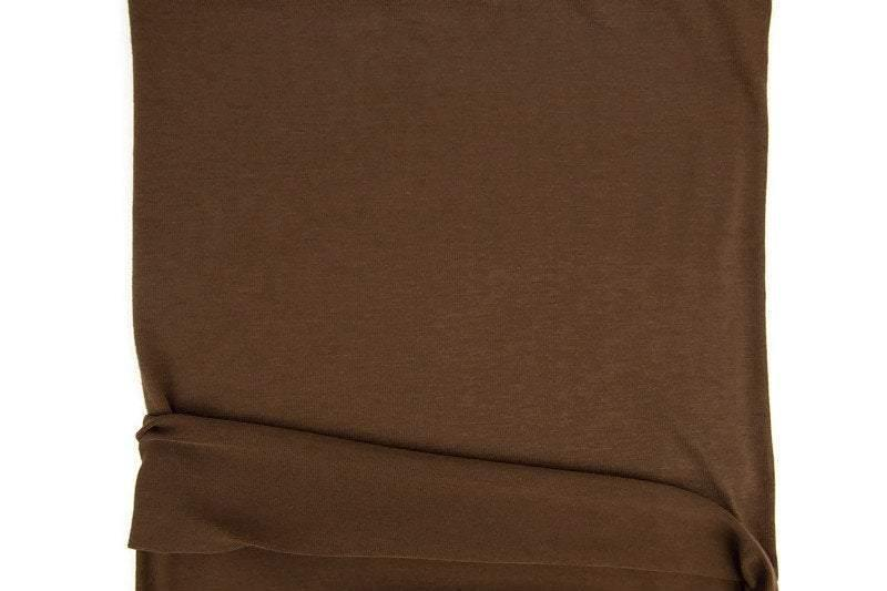 Brown Light Weight Sweater Knit Fabric by the yard OSK00973R