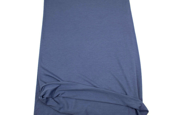 Periwinkle Blue Knit Jersey Fabric by the yard ATK00426R