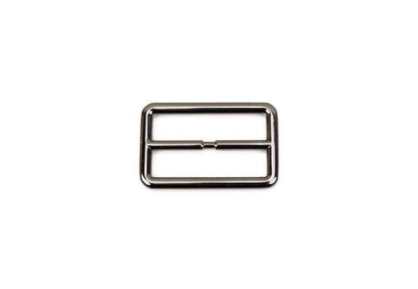 Gunmetal High End Buckle Slide Buckle Adjustable 2 Pieces