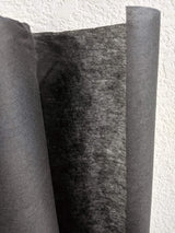 Black Non Fusible Non Woven Interfacing Stiff Medium Weight 50.5 inches width by the yard NTN00026