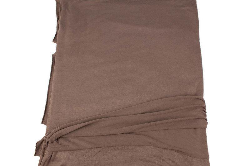 Brown Knit Jersey Fabric by the yard