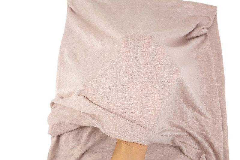 Light Beige Sweater Knit Fabric 1 yard OSK01009A
