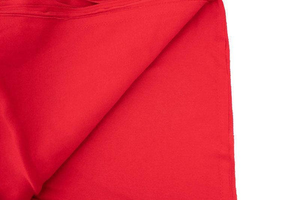 Red Cotton Spandex Fine Rib Knit Jersey Fabric by the yard ATK00473