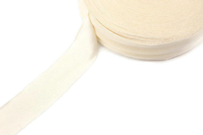 Buttercream Knit Jersey Bias Tape 1.25 inches width x 18 yards