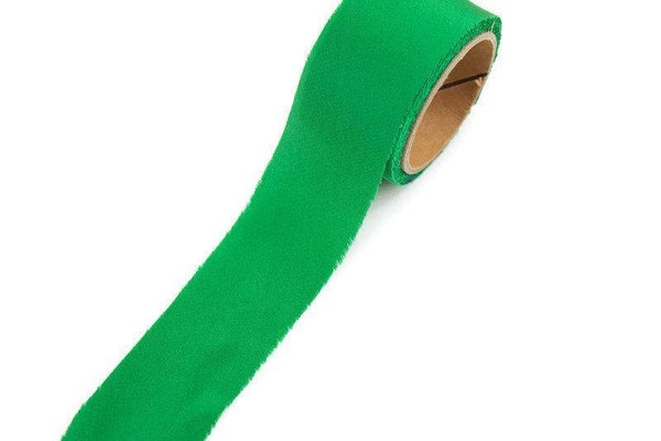 Green Silk Bias Tape 1-1/8 inches width x 4 yards BST00185