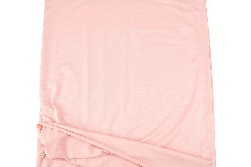 Blush Pink Knit Jersey Fabric by the yard ATK00482R
