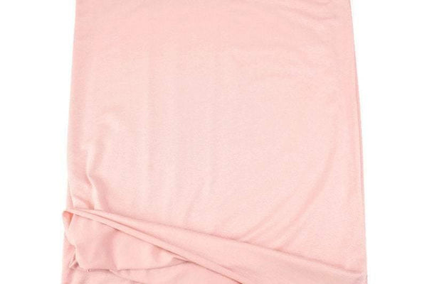 Blush Pink Knit Jersey Fabric 2.75 yards - Felinus Fabrics
