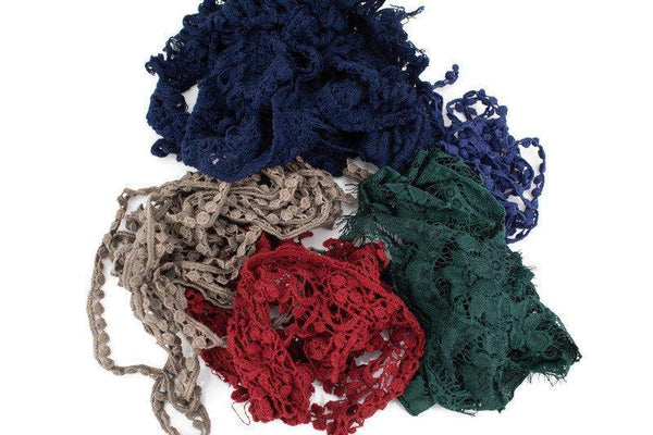 Dark Colors Variety Trim Fancy Trim Scrap Pack Scrap Bundle Pack SPK00133