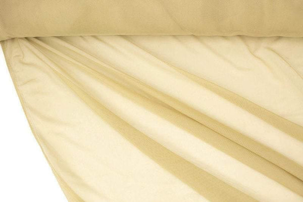 Beige Green Nylon Stretch Mesh Fabric by the yard LMT00199R