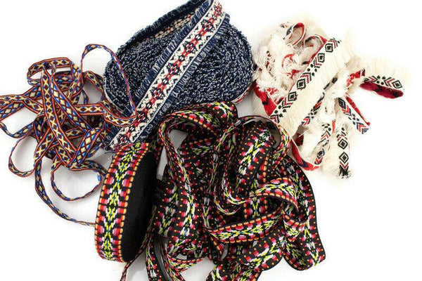 Boho Tribal Variety Lace Trim Fancy Trim Scrap Pack Scrap Bundle Pack SPK00135