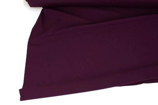 Burgundy Nylon Lycra 4 Way Stretch Fabric Performance Fabric Knit Fabric by the yard Made in Italy ATK00495R