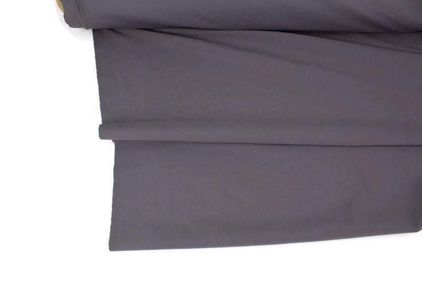 Gray Nylon Lycra 4 Way Stretch Fabric Performance Fabric Knit Fabric by the yard Made in Italy ATK00496R - Felinus Fabrics
