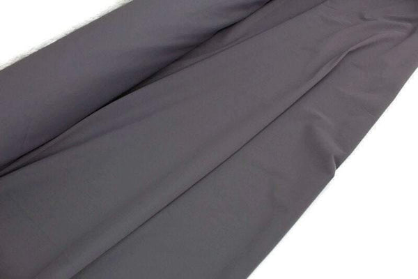 Gray Nylon Lycra 4 Way Stretch Fabric Performance Fabric Knit Fabric by the yard Made in Italy ATK00496R