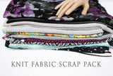 Knit Fabric Variety Surprise Scrap Pack Larger Pieces SPK00001