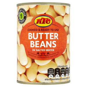 Butter Beans 400gm - Bettaveg