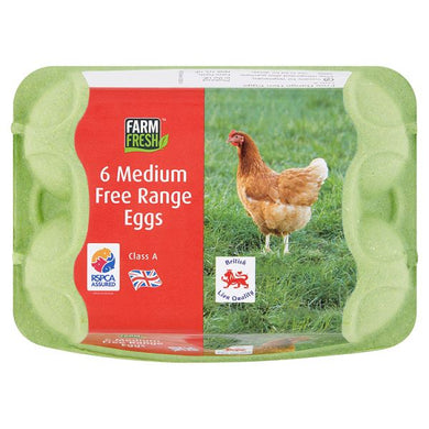 Free Range Eggs x6 - Bettaveg