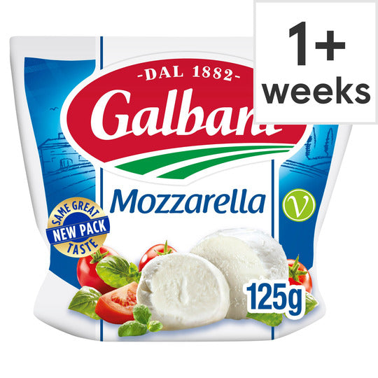 Mozzarella Ball 125g - Bettaveg