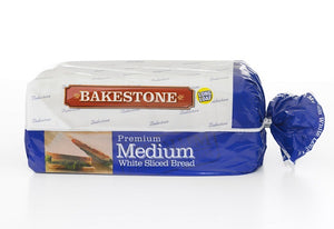 Bakestone Medium White Bread - Bettaveg