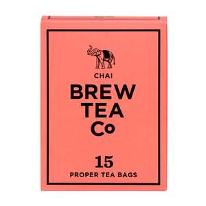 Mini & Mighty - Brew Tea – Chai 1 x 15 – Tea Bags - Bettaveg
