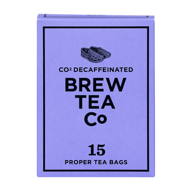 Mini & Mighty - Brew Tea – CO2 Decaffeinated 1 x 15 – Tea Bags - Bettaveg