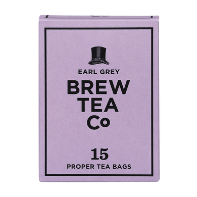 Mini & Mighty - Brew Tea – Earl Grey 1 x 15 – Tea Bags - Bettaveg
