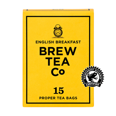 Mini & Mighty - Brew Tea - English Breakfast 1 x 15 – Tea Bags - Bettaveg
