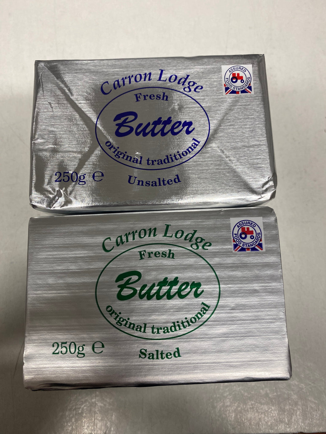 Butter 250g - Bettaveg