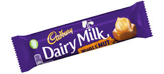 Dairy Milk Whole Nut Bar - Bettaveg