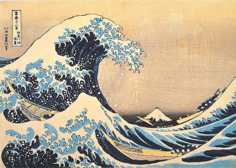 Hokusai Wave - High Quality Puzzle (1000pcs)