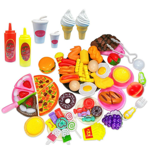 65pcs Kitchen Cooking Toy Set