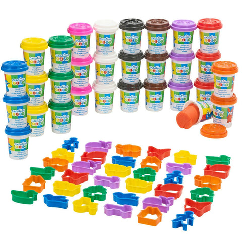 71 Pcs Play Dough
