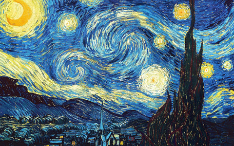 The Starry Night - High Quality Puzzle (1000pcs)