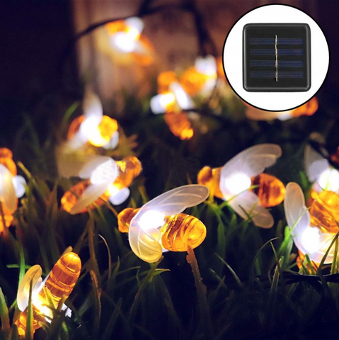 Solar Bee Lights