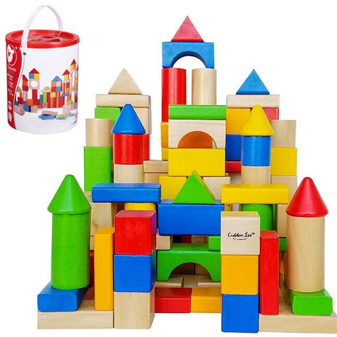 Construction Toy Castle Set