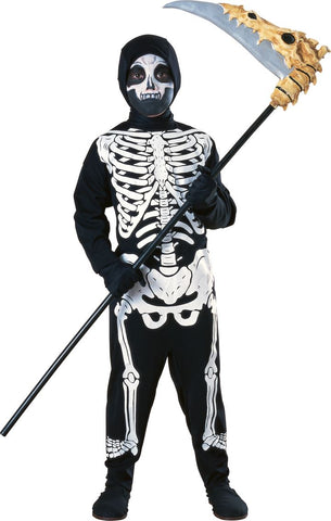 Children Halloween Skeleton Costume