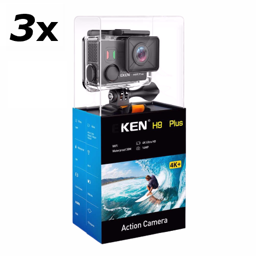 3x Pro Action Camera