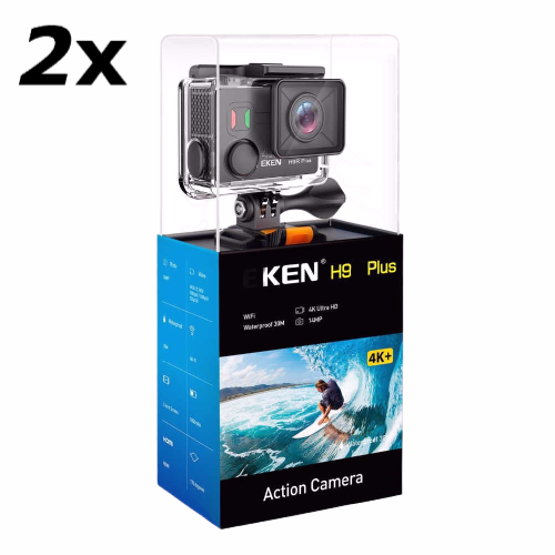 2x Pro Action Camera