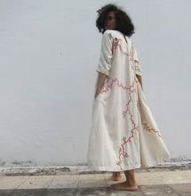 "Load image into Gallery viewer, ""Sonaben's Bawalio EKPC"" - Comfortable to carry with two pockets, full length dress"
