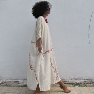 """Sonaben's Bawalio EKPC"" - Comfortable to carry with two pockets, full length dress"