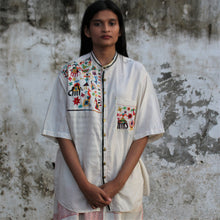 "Load image into Gallery viewer, ""Dilshad Bushirt"" - Loose fit shirt"